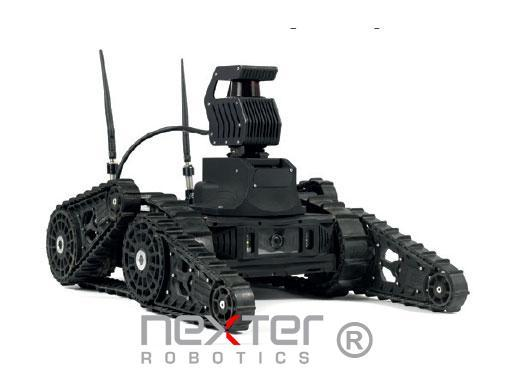 robot de cartographie Nexter Robotics