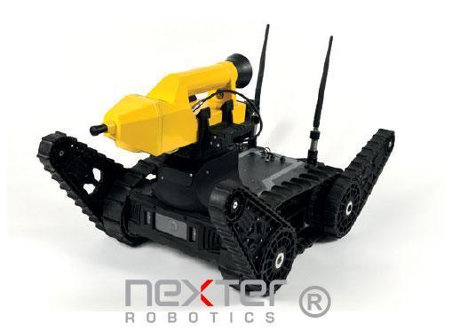 robot léger d'intervention à distance
