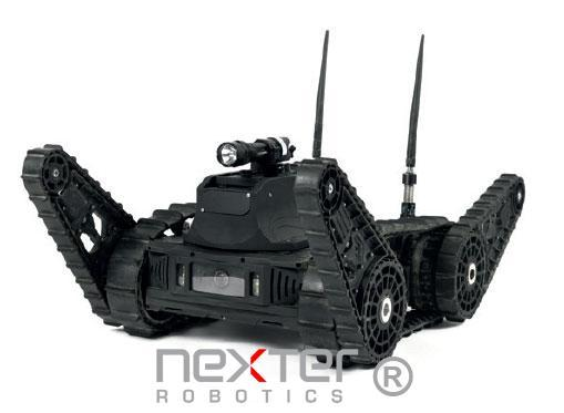 franchit les obstacles robot
