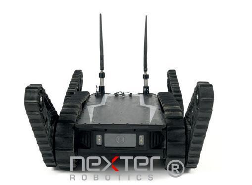 robot léger tout terrain pour la défense